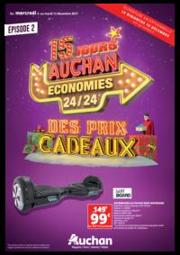 Prospectus Auchan : Des prix cadeaux