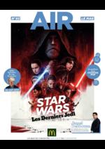 Journaux et magazines Mc Donald's : Air le Mag du mois de Décembre 2017