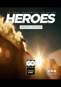 Guides et conseils Go Sport : Guide Go Sport Heroes Sports d'hiver