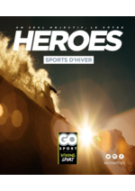 Guides et conseils  : Guide Go Sport Heroes Sports d'hiver