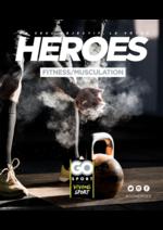 Guides et conseils Go Sport : Guide Go Sport Heroes Fitness et musculation