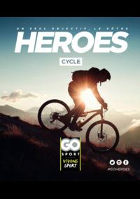 Guides et conseils Go Sport EVREUX : Guide Go Sport Heroes Cycle
