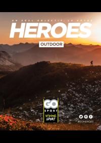 Guides et conseils Go Sport PORTET SUR GARONNE : Guide Go Sport Heroes Outdoor