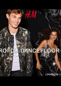 Catalogues et collections H&M La Valette du Var : Lookbook homme Roi du dancefloor