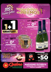 Prospectus Hyper Casino SOLLIES PONT : Le tourbillon des promos 1+1 gratuit
