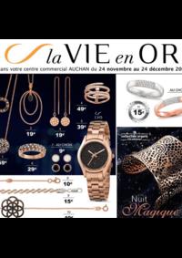 Catalogues et collections Auchan LA SEYNE S/MER : La vie en Or Nuit magique