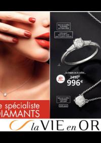 Catalogues et collections Auchan Melun Senart Cesson : La vie en Or spécial diamants
