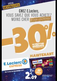 Prospectus E.Leclerc VILLEPARISIS : -30% de réduction immédiate sur de nombreux produits