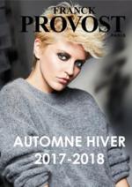 Catalogues et collections Franck Provost : Collection automne hiver 2018