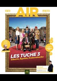 Journaux et magazines McDonald's - CHAUMONT : Air le Mag du mois de janvier 2018