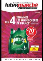 Prospectus Intermarché Super : Les 4 semaines les moins chères de France. Semaine 1