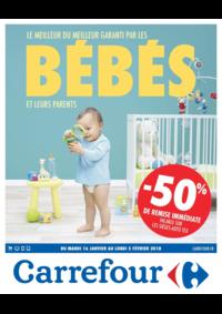 Prospectus Carrefour BESANCON Zone Commerciale Est : Le meilleur du meilleur garanti par les bébés et leurs parents