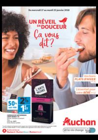 Prospectus Auchan Val d'Europe Marne-la-Vallée : Un réveil en douceur ça vous dit ?