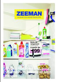 Prospectus Zeeman : Cette semaine: tout pour une maison propre et bien rangée