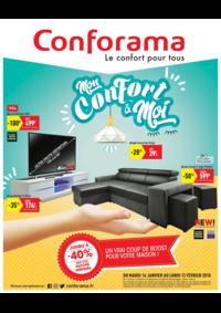Prospectus Conforama : Mon confort à moi