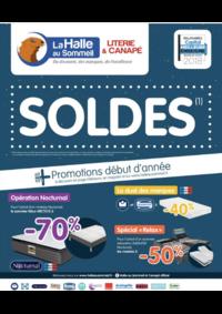 Prospectus La Halle au Sommeil BONNEUIL SUR MARNE : Soldes !