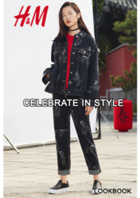 Catalogues et collections H&M Anderlecht : Lookbook femme Celebrate in style
