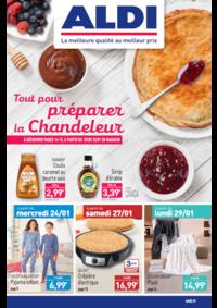 Prospectus Aldi Argenteuil : Tout pour préparer la Chandeleur