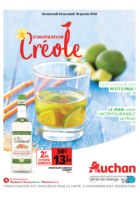 Prospectus Auchan ISSY LES MOULINEAUX : D'inspiration créole