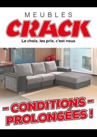 Prospectus Meubles Crack : Conditions prolongées !