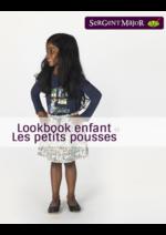 Catalogues et collections Sergent Major : Lookbook enfant Les petits pousses