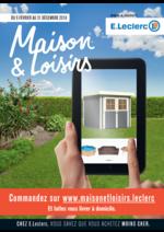 Promos et remises  : Maison et loisirs