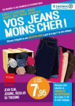 Prospectus E.Leclerc : Vos jeans moins cher !