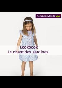 Catalogues et collections Sergent Major TRIGNAC : Lookbook enfant Le chant des sardines