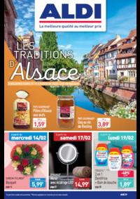 Prospectus Aldi Aulnay-sous-Bois : Les traditions d'Alsace