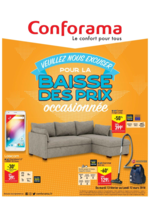 Promos et remises Conforama : Conforama baisse les prix
