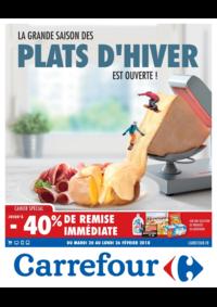 Prospectus Carrefour : La grande saison des plats d'hiver est ouverte