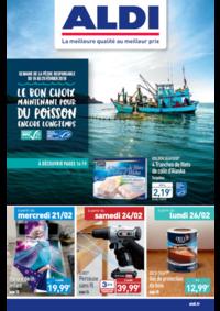 Prospectus Aldi Herbignac : Le bon choix maintenant pour du poisson encore longtemps