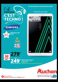 Prospectus Auchan : C'est nouveau c'est techno