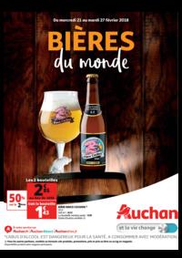 Prospectus Auchan LA SEYNE S/MER : Bières du monde