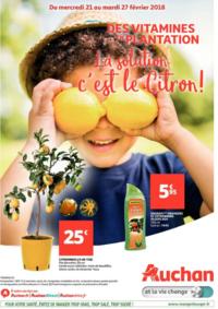 Prospectus Auchan LA SEYNE S/MER : La solution c'est le citron