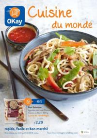 Prospectus OKay Supermarchés ETTERBEEK : Cuisine du monde