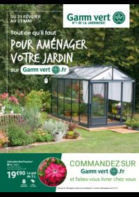 Prospectus Gamm vert Village CORRE : Pour aménager votre jardin