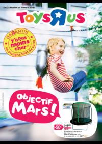 Prospectus Toys R Us AULNAY SOUS BOIS : Objectif mars !