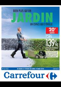 Prospectus Carrefour LA VALETTE DU VAR : Bien plus qu'un jardin un espace qui s'éveille