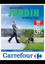 Prospectus Carrefour : Bien plus qu'un jardin un espace qui s'éveille