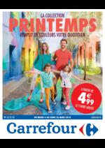 Prospectus Carrefour : La collection printemps remplit de couleurs votre quotidien