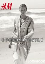 Catálogos e Coleções H&M : Lookbook senhora O poder do estilo