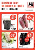 Prospectus Supermarché Delhaize : Comment faire de bonnes affaires cette semaine
