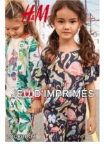 Catalogues et collections H&M : Lookbook enfant Jeu d'imprimés