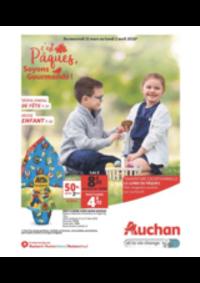 Prospectus Auchan Plaisir : C'est pâques soyons gourmands