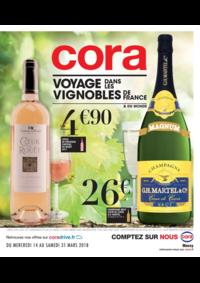 Prospectus Cora MASSY : Voyage dans les vignobles de France
