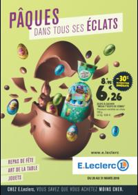 Prospectus E.Leclerc MASSY : Pâques dans tous ses éclats