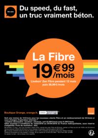 Prospectus Boutique Orange PARIS 4 : Du speed, du fast, un truc vraiment béton