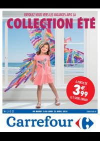 Prospectus Carrefour CORBEIL : Envolez-vous vers les vacances avec la collection été