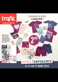 Prospectus Trafic Florenville : Offres temporaires